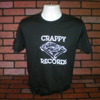 Crappy Records – Turntable Pizza T-Shirt